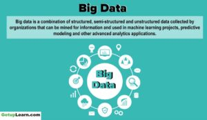 Read more about the article What is Big Data? Characteristics, Tools, Types, Internet of Things (IOT)