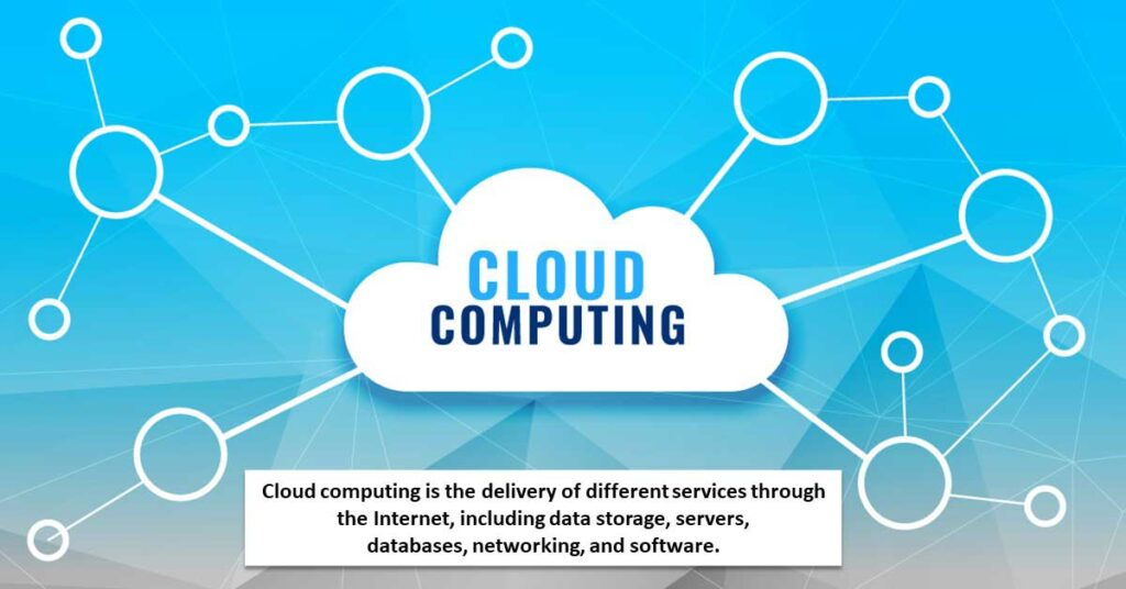 what is meaning of cloud computing